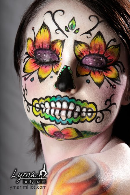 FACE PAINT FOR DIA DE LOS MUERTOS