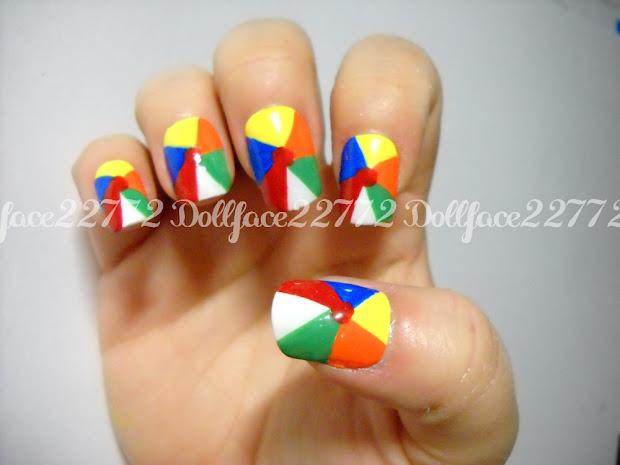 nails art hair makeup ball