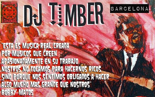 DJ Timber (Barcelona) <br> Salsa Dura Y Mucho Mas
