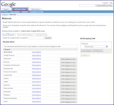 Google Adsense Referrals(推介广告) 2.0