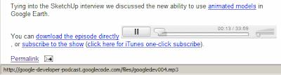 Google的内嵌MP3播放器(Flash播放器)