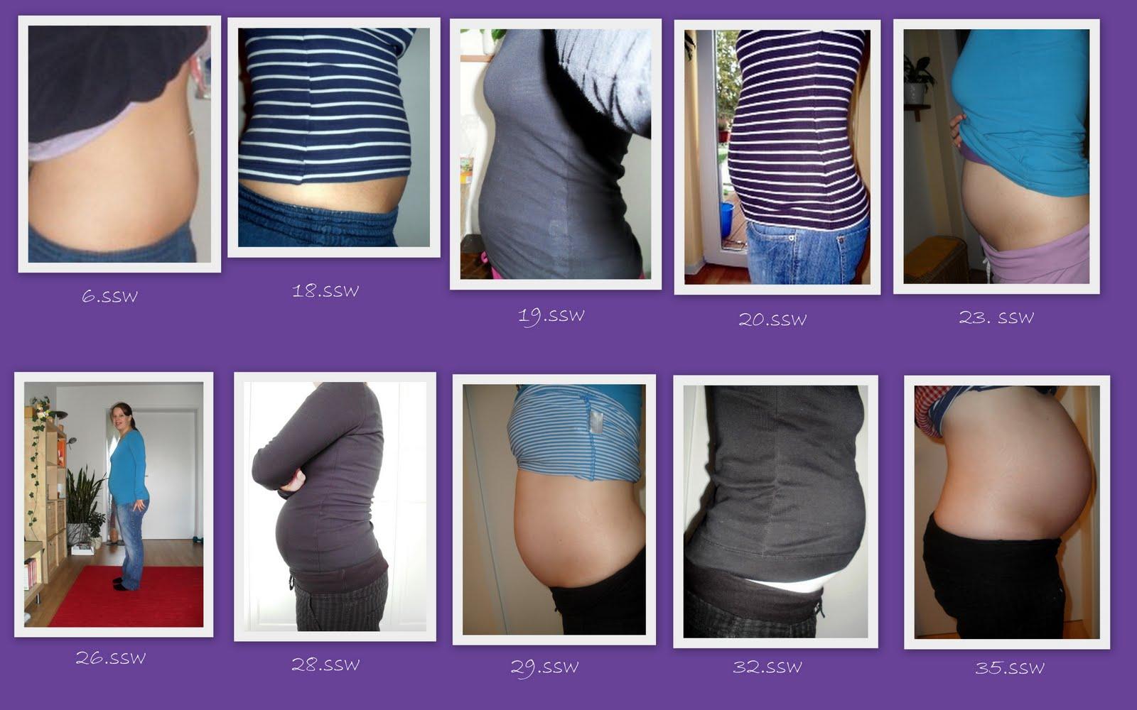 schnelle gewichtszunahme schwangerschaft