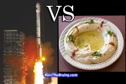 Satellite VS Hummus