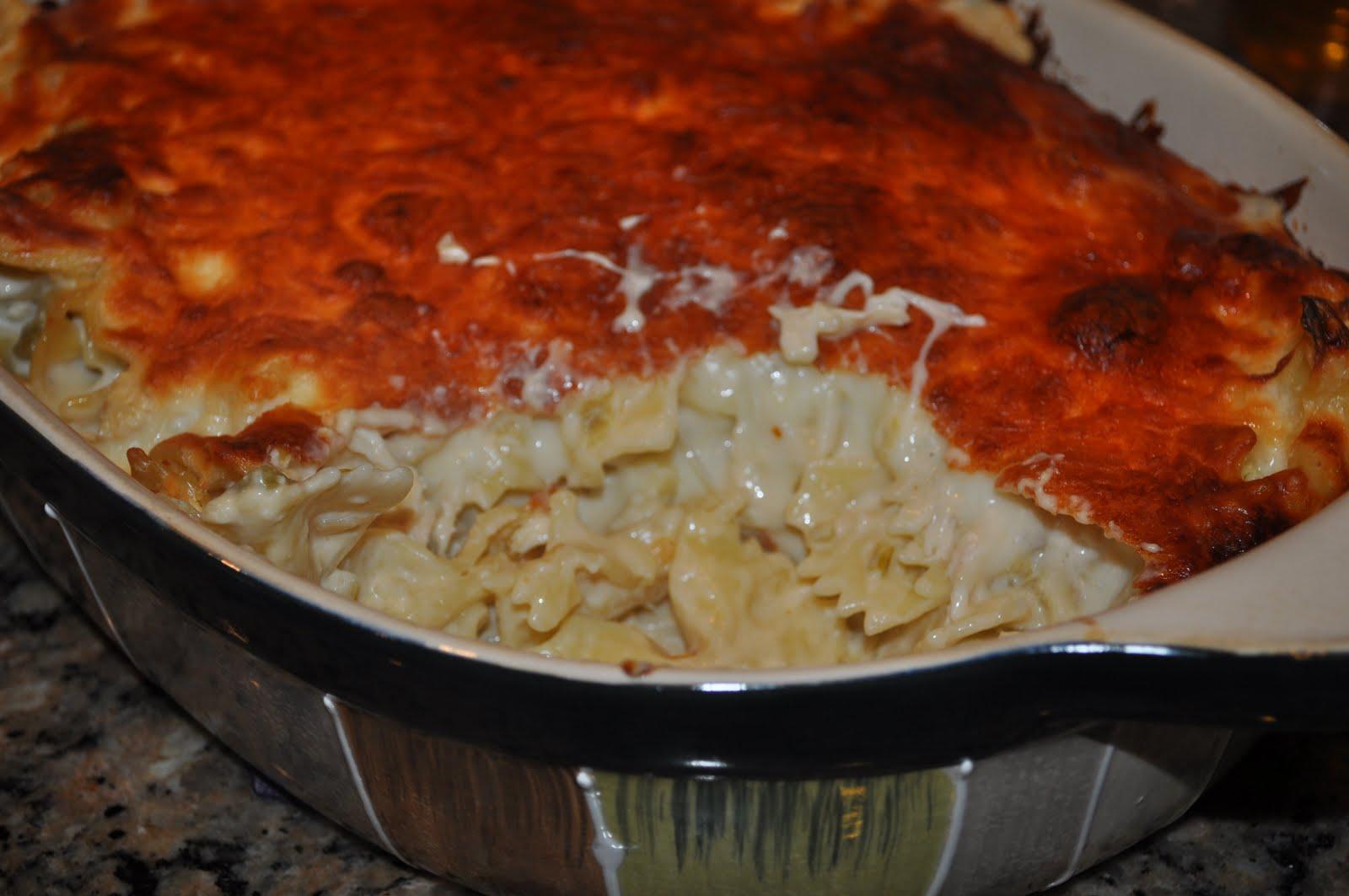 Green chili chicken pasta recipe