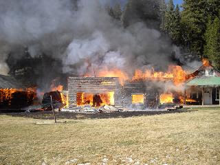 Big Creek Lodge Fire