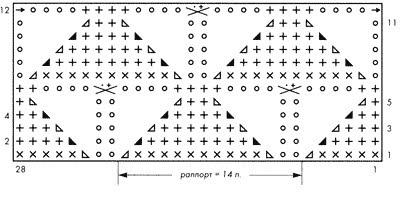 Повязка-корона схема описание