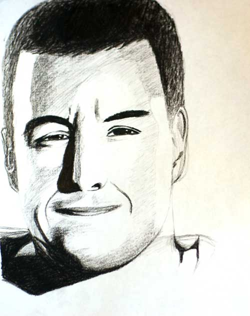 adam sandler portrait