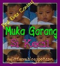My 1st Ever-Muka garang si kecil