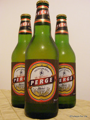 Turkish Beer - Perge Pilsner
