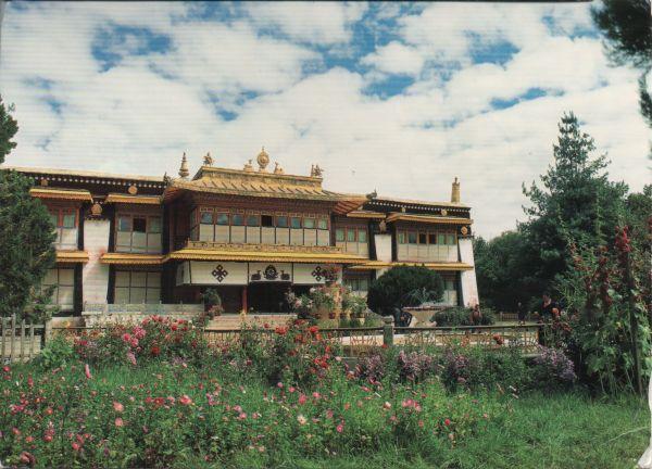 Dalai Lamas summer residence