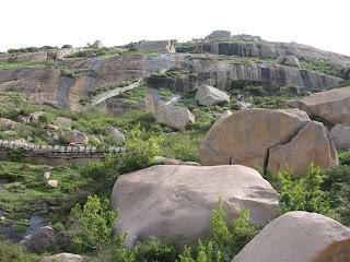 Rocks at Shivagange hill