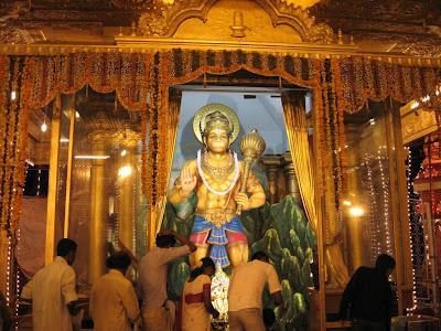 Idol of Lord Hanuman, Kudroli, Mangalore