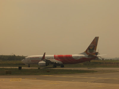 Air India Express on way to Dubai