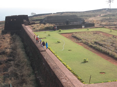 A Walk along the Bekal Fort Kasaragod Kerala