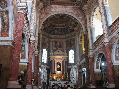 Inside St.Aloysius Chapel, Mangalore