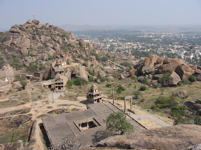 Birds view from Chitradurga fort