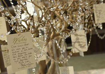 tree branches  for weddings