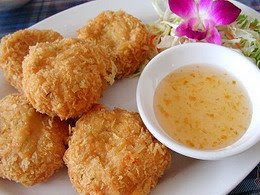 Fried Shrimp dipped in batter