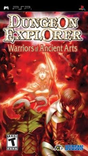 Dungeon Explorer Warrior Of The Ancient Arts [PSP]