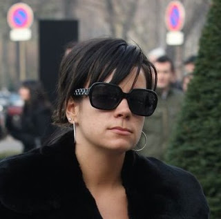 Celebrity Sighting – Lilly Allen and Chanel 5124 Sunglasses