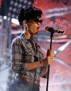 Celebrity Sighting - Rihanna and Colab Eyewear Wiener Sunglasses