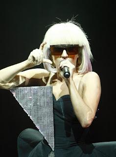 Lady Gaga Sunglasses – Vintage Versace 676