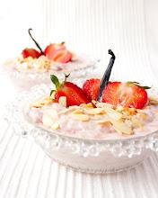 Meleg epres-vaníliás tejebrizs