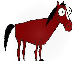 Cute Easy Cartoon Horse Drawings
