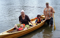 Family Riff in the Most Beautiful Canoe on the Tobique