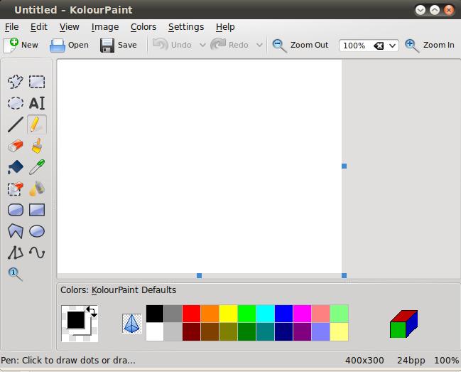 Kolourpaint el paint de linux taringa Paint for linux