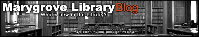 Marygrove Library Blog