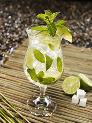 Cuban Mojito with Lime and Mint