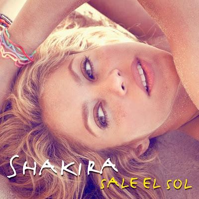 shakira sale el sol artwork. de lavanderia shakira.