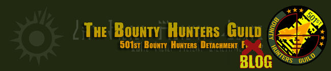 501st Bounty Hunters Guild Blog Site