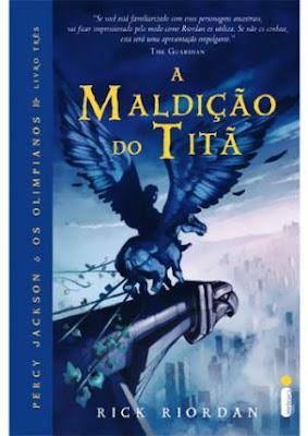 Livro: A Maldição do Titã - Percy Jackson