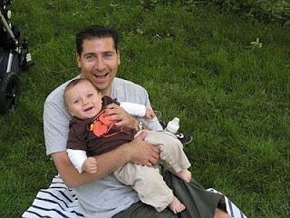 Lance Somerfeld and baby Jake