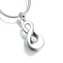 Silver Infinity keepsake