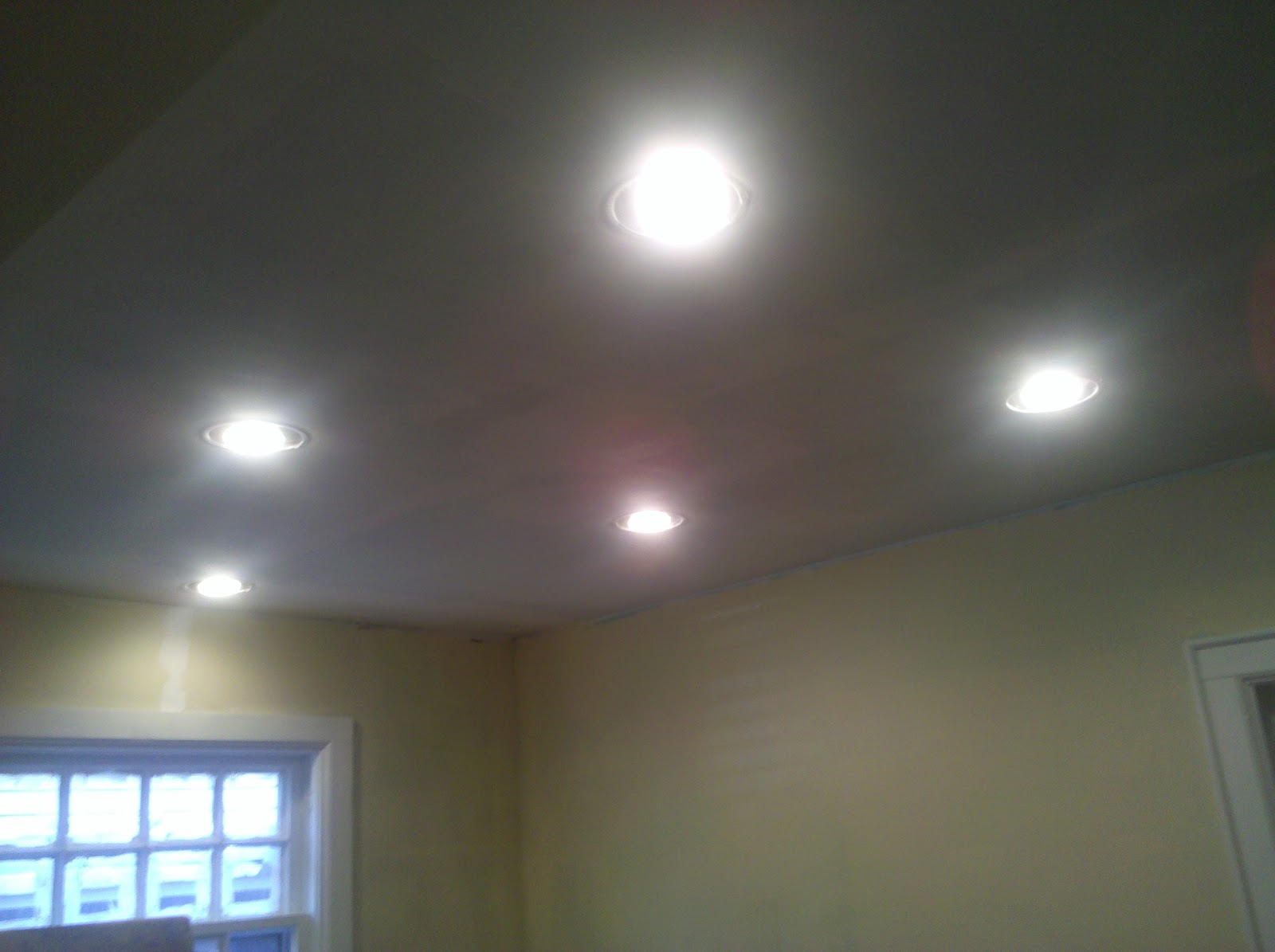 Kitchen Recessed Ceiling Lights