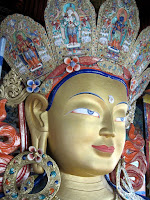 Thikse Monastery Buddha
