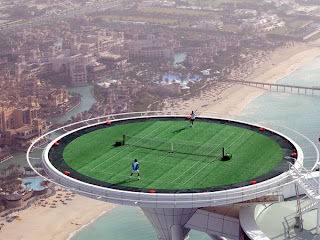 najvisi teniski teren na svetu