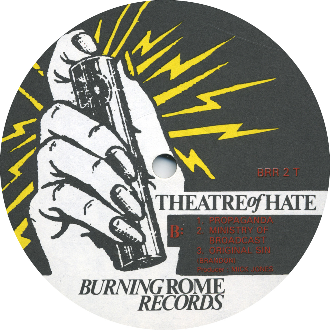 Theatre Of Hate Westworld