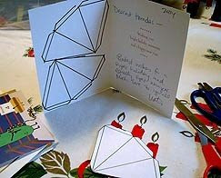 A Beautiful Christmas Card Star