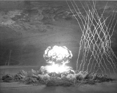 Operation Teapot's Wasp Prime was an air-dropped nuclear device that exploded