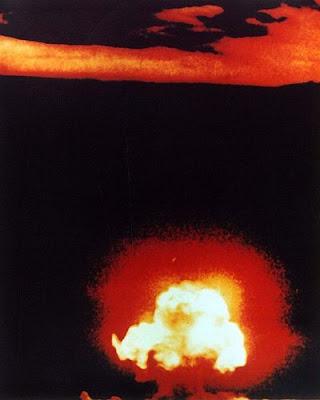 Trinity Nuclear Explosion.