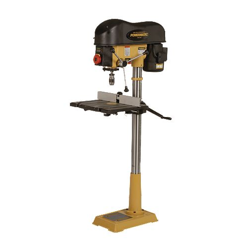"DRILL PRESS REVIEW: POWERMATIC 2800 PM 18"" VS DRILL PRESS"
