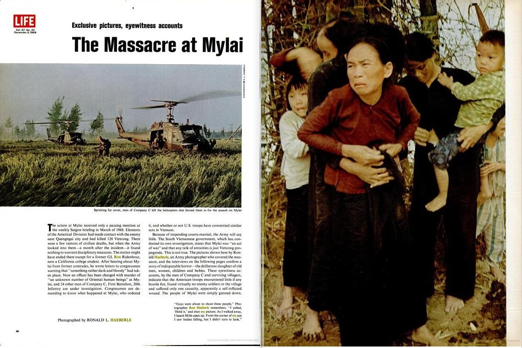 the account of events during the my lai massacre in vietnam The my lai massacre during the vietnam war saw us soldiers kill hundreds of innocent civilians — and get away with it.