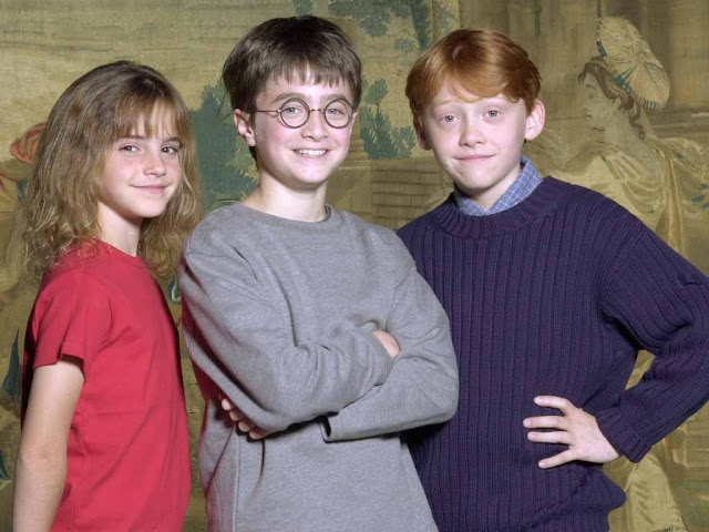 Harry ron hermione young age harry potter 7384969 1024 768 jpg