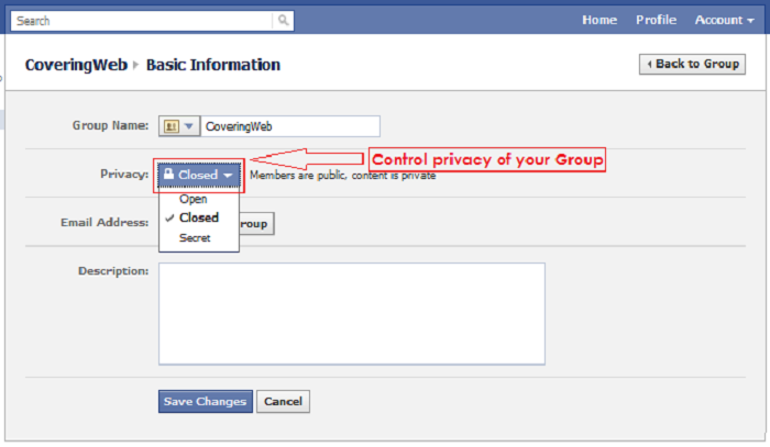 how to create an album on facebook group