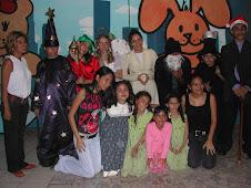 Obra de teatro navideña bajo la direcciòn de Claudia Zeledon