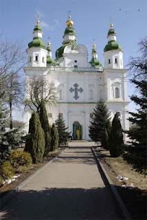 на фото: Троицкий собор Чернигова